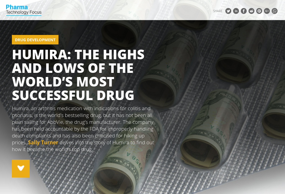 Humira The Highs And Lows Of The World S Most Successful Drug